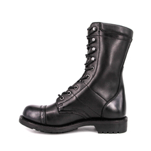 Germany goodyear officer black full leather boots 6217