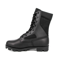 Police waterproof american military boots 5215