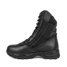 Special forces winter motorcycle men black military tactical boot 4282