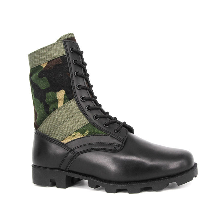 Waterproof camouflage police jungle boots 5201