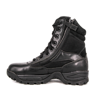 Lightweight jungle military black shiny Australia tactical boots 4268