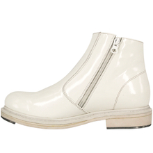 Waterproof white minimalist office shoes 1252