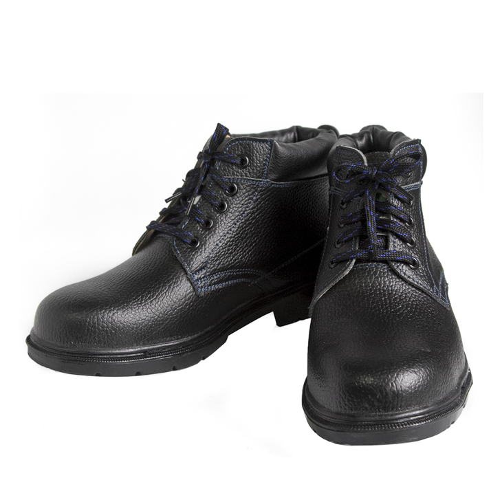 Oxford composite toe black safety shoes 3102