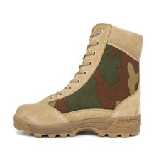 Turkey waterproof suede camo desert boots 7251