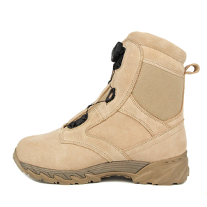 Saudi Arabia Australia waterproof hiking BOA system military desert boots 7288