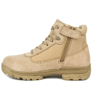 Yellow tactical American military desert boots 7110
